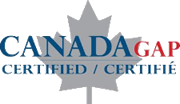 Canada GAP Certified Grower