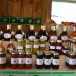 Jams, Jellies, Preserves for sale at Lennox farms north of Shelburne in Melanchton