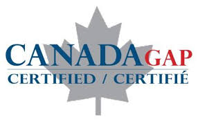 Lennox Farm is Canada GAP Certified