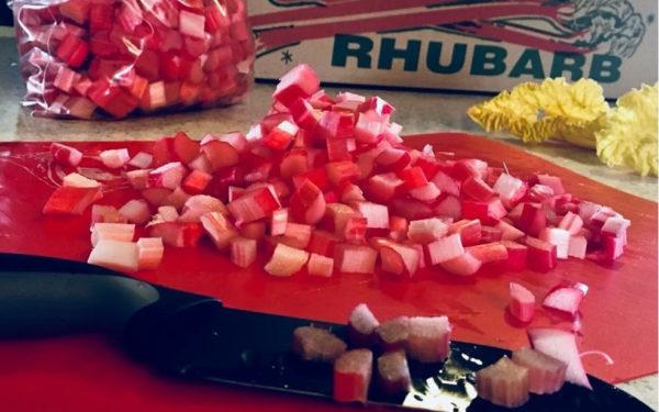 Chopped Rubarb